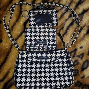 Vera Bradley Houndstooth small purse